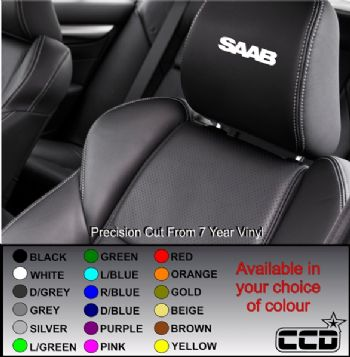 Saab Logo Car seat Decals